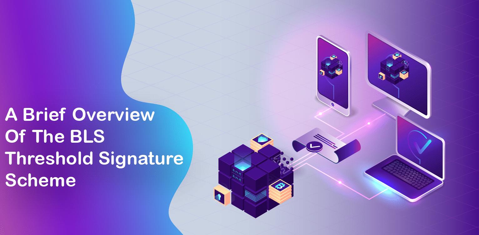 Brief Overview Of The BLS Threshold Signature Scheme